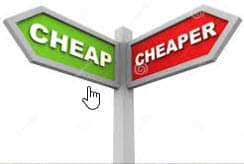 cheap or cheaper at surgical healing arts center